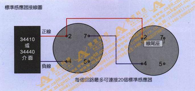 标准感应器接线图